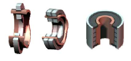 Magnetal Passive Magnetic Product Line of Homopolar Electrodynamic Bearings